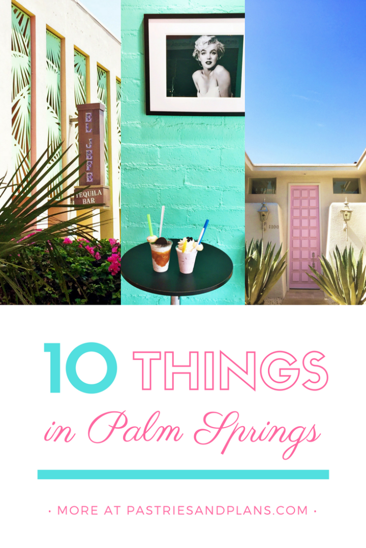Palm Springs Bucket List